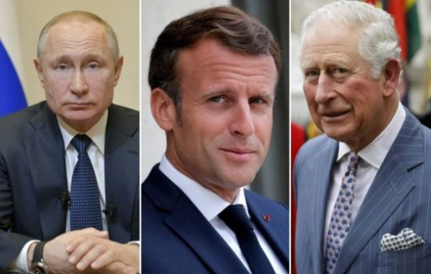 Πούτιν, Μακρόν και Κάρολος προσκλήθηκαν στην Αθήνα για τον εορτασμό της 25ης Μαρτίου