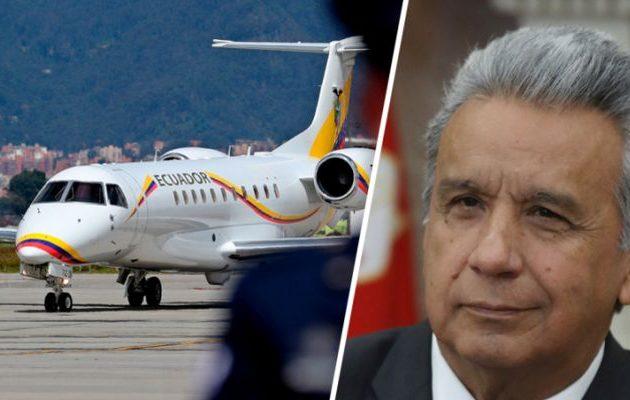 Το προεδρικό αεροσκάφος του Ισημερινού προχώρησε σε αναγκαστική προσγείωση κοντά στην Ουάσιγκτον