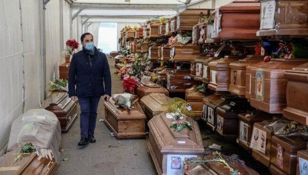 Το Παλέρμο δεν μπορεί να θάψει νεκρούς από κορωνοϊό – 700 φέρετρα σε αποθήκη