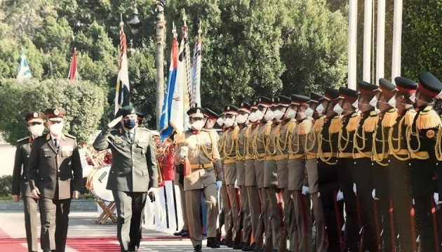 Τριήμερη επίσκεψη του Στρατηγού Φλώρου στην Αίγυπτο