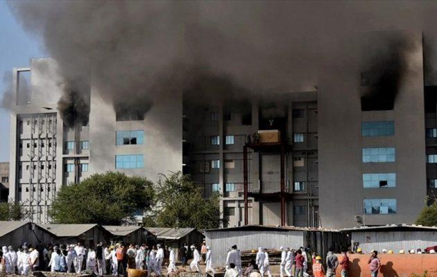 Φονική πυρκαγιά στο μεγαλύτερο εργοστάσιο εμβολίων του κόσμου στην Ινδία