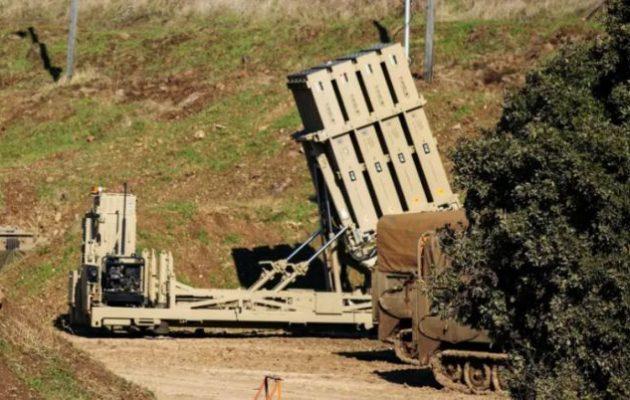 Ο ισραηλινός «Σιδηρούς Θόλος» θα προστατεύει αραβικές χώρες του Κόλπου