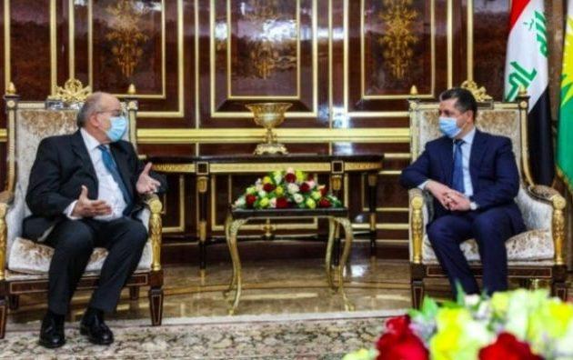 Ο Έλληνας πρέσβης στο Ιράκ συναντήθηκε με τον πρωθυπουργό του ιρακινού Κουρδιστάν