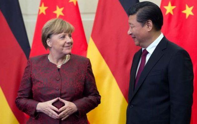 Η Μέρκελ έκλεισε συμφωνία με την Κίνα στο όνομα της ΕΕ μαχαιρώνοντας πισώπλατα τις ΗΠΑ