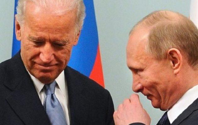O Mπάιντεν θέλει συνάντηση με τον Πούτιν τον Ιούνιο