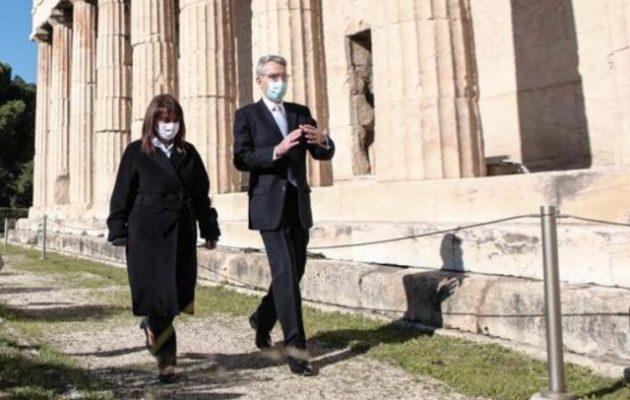 Πάιατ: Ο Μπάιντεν θα προωθήσει την αναβάθμιση της σχέσης Ελλάδας-ΗΠΑ