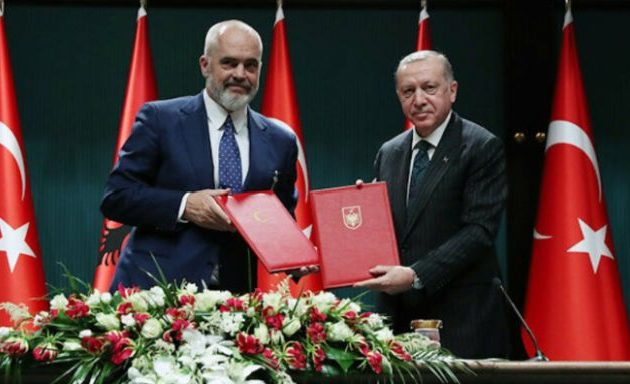 Αλβανία προσκύνησε Τουρκία: Τι υπέγραψε ο Ράμα μπροστά στον Ερντογάν