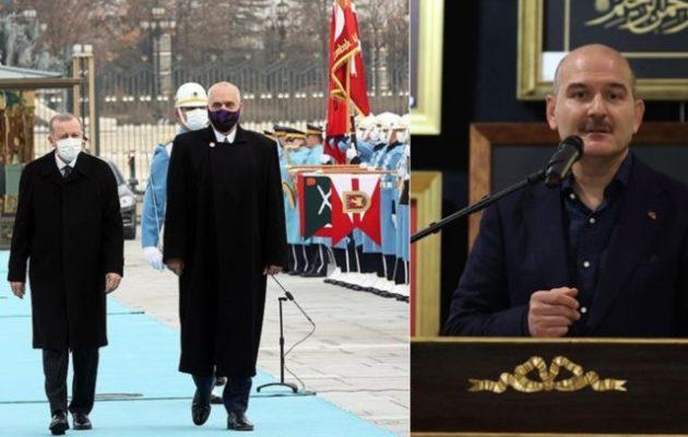 Αλβανία και Τουρκία «σχεδίασαν μαζί» πώς θα καθαρίσουν την Ελλάδα στα Βαλκάνια