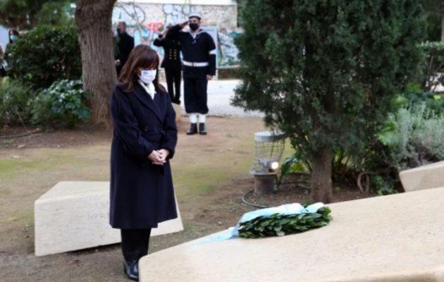 Σακελλαροπούλου: «Το Ολοκαύτωμα είναι η πιο ακραία εκδήλωση του κακού στην ανθρώπινη ιστορία»