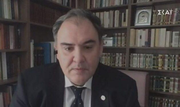 Σαρηγιάννης: Η κατάσταση είναι δύσκολη – Να πάμε αύριο σε αυστηρό λοκντάουν