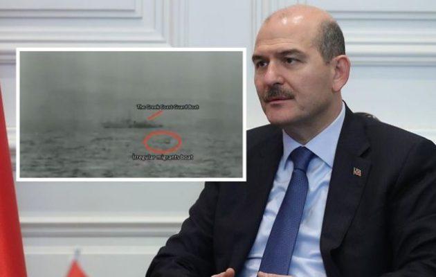 Ο Σοϊλού κατηγορεί με βίντεο την Ελλάδα ότι απωθεί Αφρικανούς μετανάστες στη θάλασσα (βίντεο)