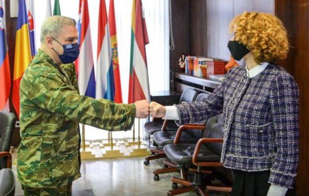 Έλληνες στρατηγοί στη Βόρεια Μακεδονία για το πρόγραμμα στρατιωτικής συνεργασίας