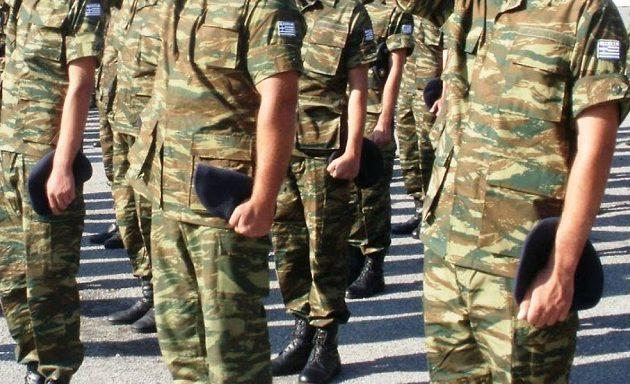 Αυξάνεται στους 12 μήνες η θητεία στο Στρατό Ξηράς