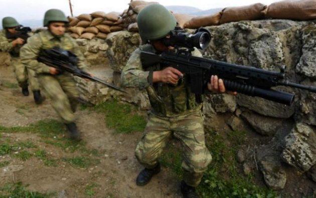 Ο τουρκικός στρατός διεξάγει πέντε εκκαθαριστικές επιχειρήσεις εναντίον των Κούρδων ανταρτών στη Ν/Α Τουρκία