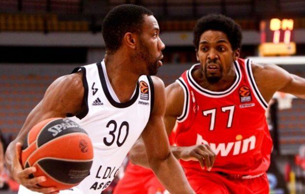 Euroleague: Έχασε στο ΣΕΦ ο Ολυμπιακός 69-63 από τη Βιλερμπάν