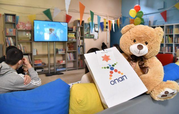 Ευχές και 5.034 δώρα στα παιδιά από τα Ευχοστολίδια του ΟΠΑΠ (βίντεο)