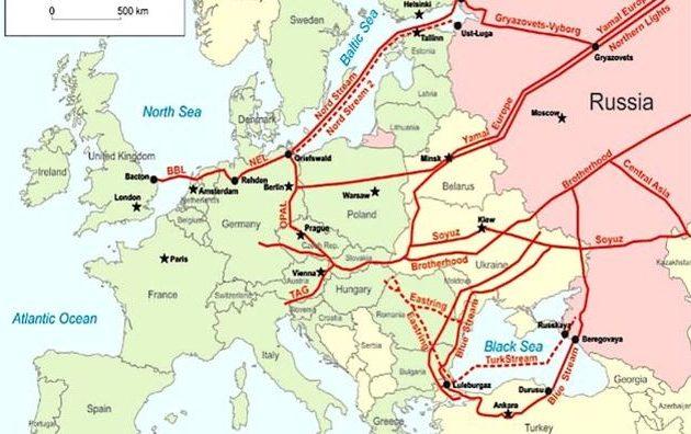 Στέιτ Ντιπάρτμεντ: Οι αγωγοί Nord Stream 2 και Turkish Stream υπονομεύουν την διατλαντική ασφάλεια