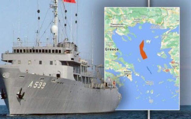 Την ώρα που ήταν να ξεκινήσει ο 62ος κύκλος διερευνητικών η Τουρκία βγάζει στο Αιγαίο το «Τσεσμέ»