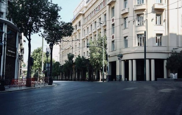 Δημ. Σαρηγιάννης: Η απόδοση του λοκντάουν σε σχέση με τον προηγούμενο Μάρτιο είναι στο 45%
