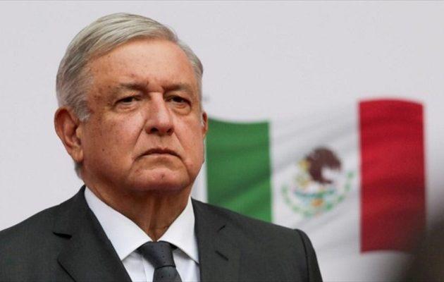 Ο πρόεδρος του Μεξικού κόλλησε κορωνοϊό, ανέρρωσε αλλά δεν φορά μάσκα