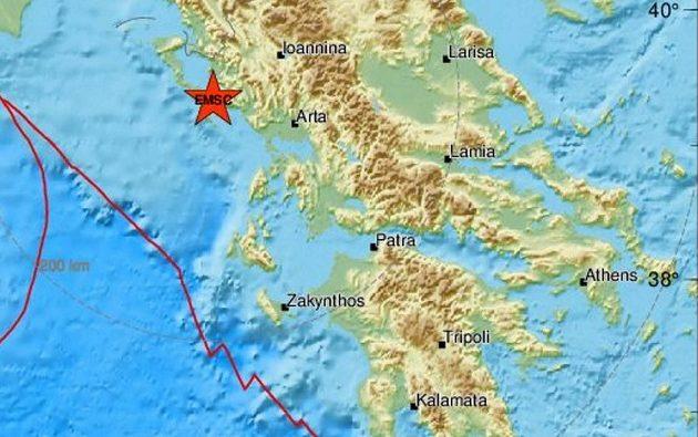 Σεισμός 4,2 Ρίχτερ στην Κέρκυρα