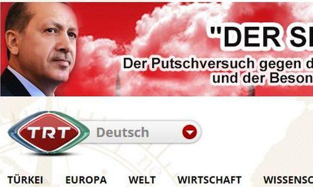 Τουρκική-ισλαμιστική προπαγάνδα στα γερμανικά από το TRT Deutsch – Ο Ερντογάν δεν έχει μέτρο