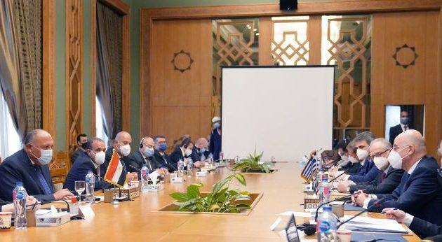 Γιατί ο Δένδιας συνοδευόταν στο Κάιρο από στελέχη της Υδρογραφικής Υπηρεσίας – Ποιο θέμα «επιλύθηκε»