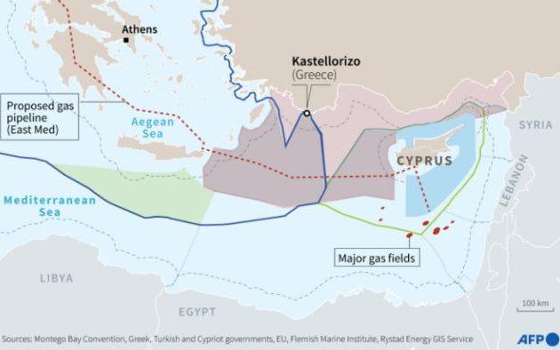 Ο Τσαβούσογλου πρότεινε στην Αίγυπτο να ορίσει ΑΟΖ με την Τουρκία εξαφανίζοντας το Καστελλόριζο