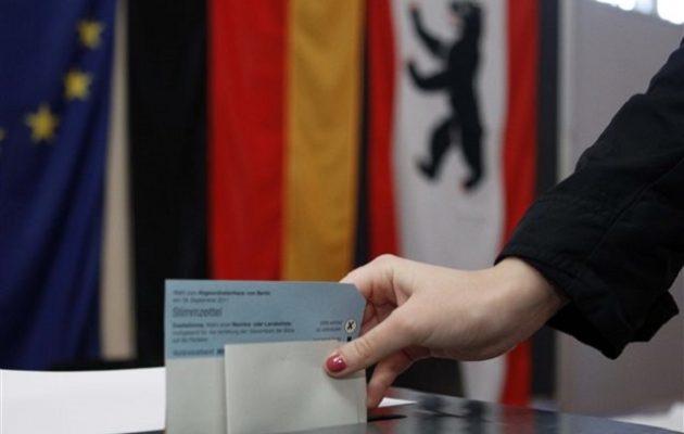 Εκλογές σε δύο γερμανικά κρατίδια- Χαμένοι οι Χριστιανοδημοκράτες της Μέρκελ