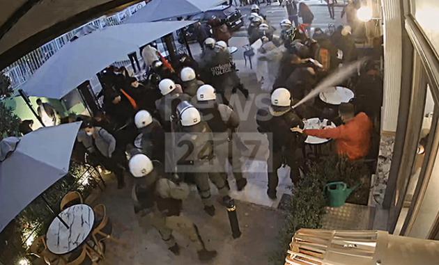 ΣΥΡΙΖΑ κατά Χρυσοχοΐδη για νέο-βίντεο ντοκουμέντο με αστυνομική βία (βίντεο)