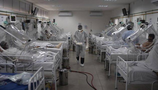 Η Βραζιλία βιώνει τη χειρότερη υγειονομική κρίση της ιστορίας της