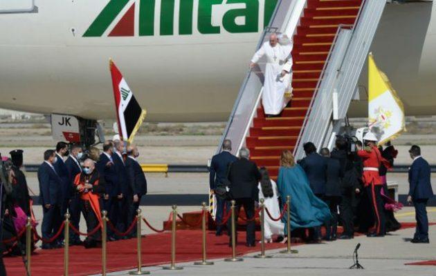 Ο Πάπας στη Βαγδάτη – Ξεκίνησε το πιο επικίνδυνο ταξίδι του Ποντίφικα στο εξωτερικό