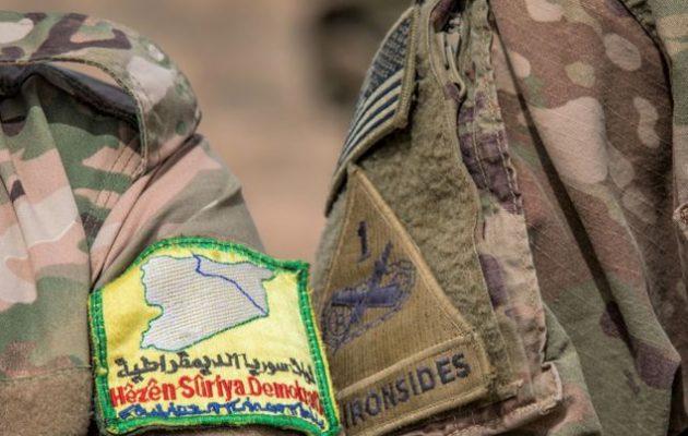 Αμερικανοί και Κούρδοι της Συρίας πραγματοποίησαν κοινή άσκηση με πραγματικά πυρά