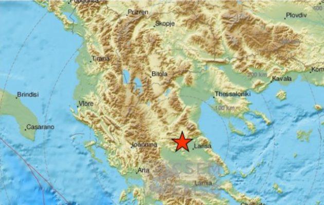 Σεισμός ισχυρός στη Θεσσαλία – Αισθητός και στην Αθήνα