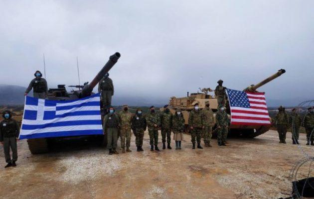 «Θρακική Συνεργασία»: Ισχυρή άσκηση ελληνικών και αμερικανικών τανκς στην Ξάνθη – Μήνυμα περιφερειακής άμυνας και ασφάλειας