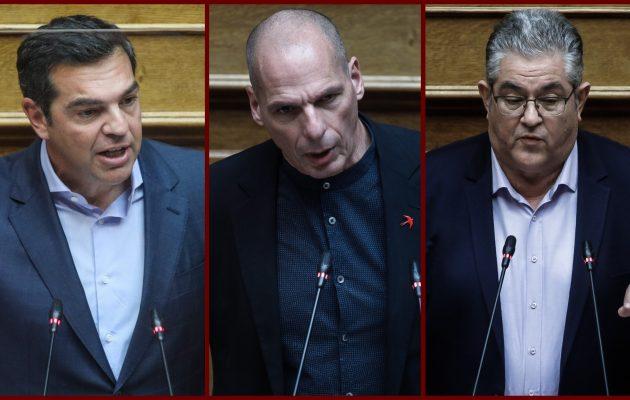 Κάλεσμα Βαρουφάκη σε ΣΥΡΙΖΑ και ΚΚΕ για κοινή δράση κατά της κρατικής καταστολής