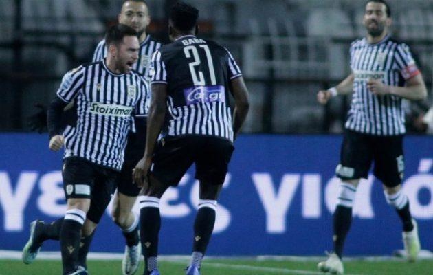 Προβάδισμα για την Ευρώπη ο ΠΑΟΚ 3-1 την ΑΕΚ