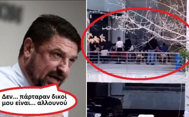 Χαμός με το κωρονογλέντι στην «πίσω αυλή» του Χαρδαλιά – Τι λέει ο ίδιος, επίθεση από ΣΥΡΙΖΑ-ΠΣ (βίντεο)