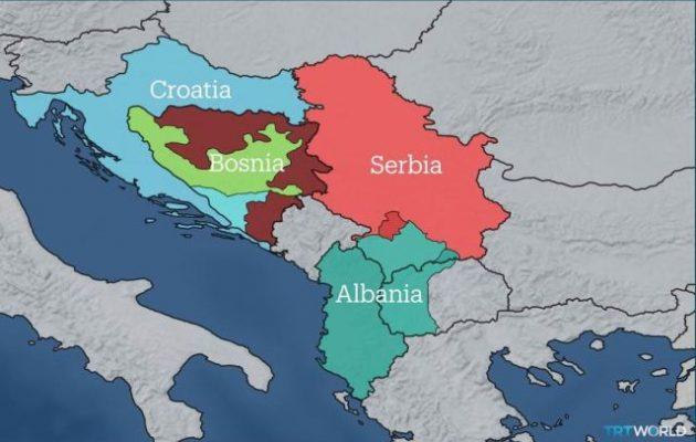 Όχι στη Μεγάλη Αλβανία δηλώνει η ΕΕ – Καμία αλλαγή συνόρων στα Βαλκάνια