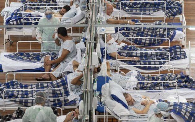 «Μανιασμένη κόλαση» η έξαρση της πανδημίας στη Βραζιλία – 348.718 θάνατοι