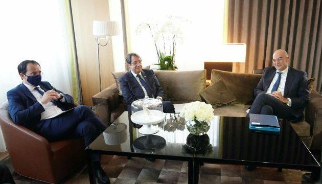 Νίκος Δένδιας: «Διαρκής και στενός ο συντονισμός Ελλάδας και Κύπρου»