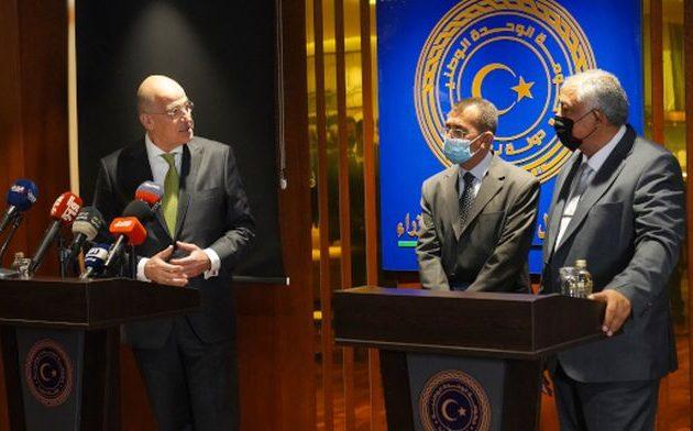 Αν. Πρωθυπουργός Λιβύης: Παράνομο το «μνημόνιο» Τουρκίας-Σαράτζ – Δένδιας: «Είμαστε εδώ, στο πλευρό σας»