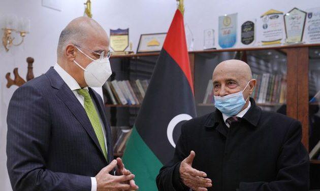 """Πρόεδρος λιβυκής Βουλής σε Δένδια: «Δεν υπάρχει """"τουρκολιβυκό μνημόνιο""""»"""