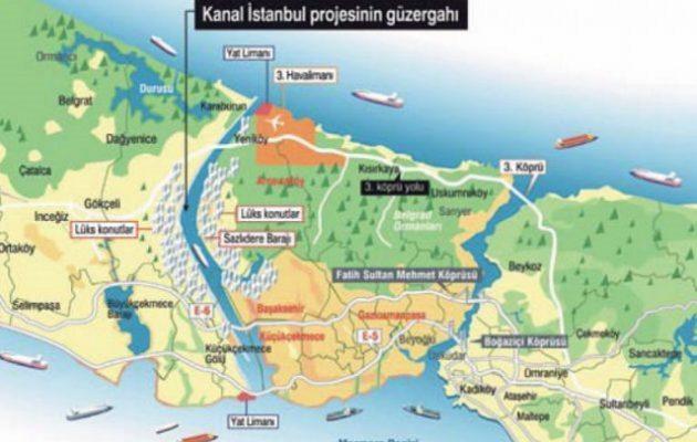 Ερντογάν: Η διώρυγα της Κωνσταντινούπολης αρχίζει το καλοκαίρι «είτε σας αρέσει είτε όχι»