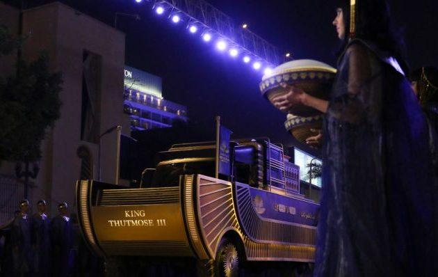 22 μούμιες Φαραώ μεταφέρθηκαν μεγαλοπρεπώς στο νέο Μουσείο του Καΐρου (βίντεο)
