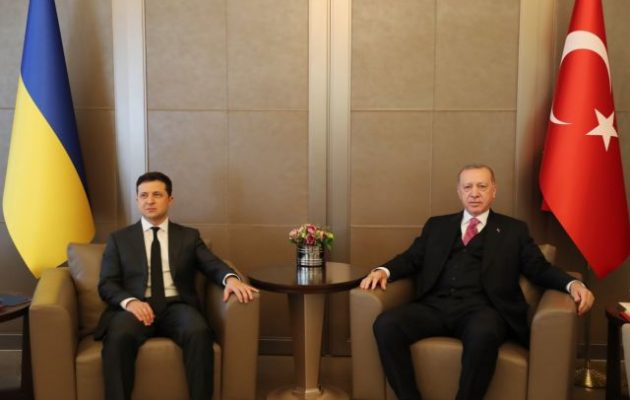 Ερντογάν: Η Τουρκία υποστηρίζει την εδαφική ακεραιότητα της Ουκρανίας