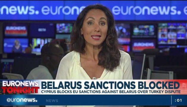 «Κόπηκε» η μετάδοση του Euronews στη Λευκορωσία