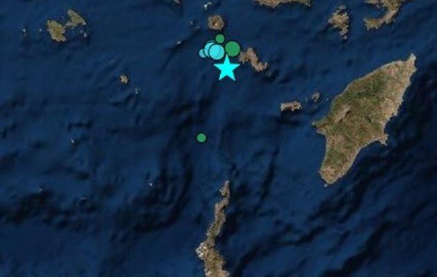 Ισχυρός σεισμός 5,2 Ρίχτερ κοντά στην Τήλο