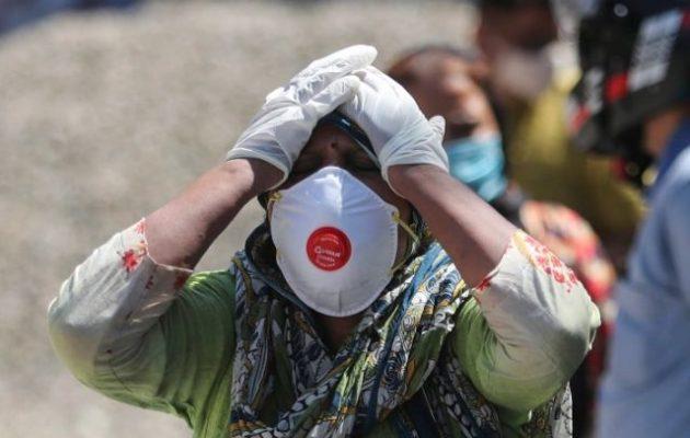 Ινδία: 979 θάνατοι και 46.148 κρούσματα σε ένα 24ωρο