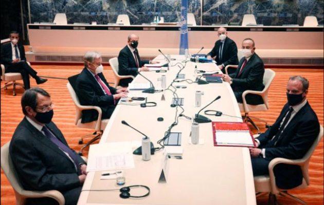 Ο Γκουτέρες συγκάλεσε έκτακτη ολομέλεια των συμμετεχόντων στην άτυπη διάσκεψη για το Κυπριακό